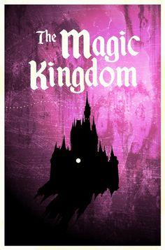 Disney World Art by Justin King - Magic Kingdom by janice.christensen-dean