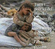 L'indifferenza dell' umanità!