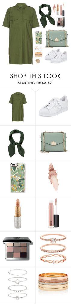 """""""KHAKI.DRESS ⚫️"""" by megans-got-clothes ❤ liked on Polyvore featuring Equipment, adidas, Chloé, Jennifer Lopez, Casetify, Maybelline, Mariah Carey, MAC Cosmetics, Bobbi Brown Cosmetics and Accessorize"""