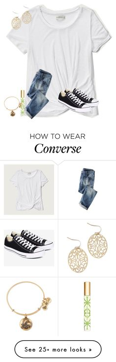 """lets just be honest...lets just be real"" by texasgirlfashion on Polyvore featuring Abercrombie & Fitch, Converse, Tory Burch and Alex and Ani"