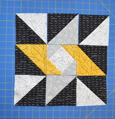 "We are hosting the ""Everyone's a Star"" quilt along for the next 5 weeks! Follow our blog, Sew In Love With Fabric, to see how three bloggers make the same quilt with different fabric."