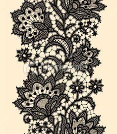 Black Lace Tattoo Designstattoo Inspiratons Wbsxrmnv Pattern