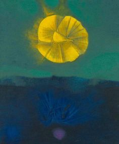 Max Ernst - The Sirens wake up when reason falls asleep, 1960