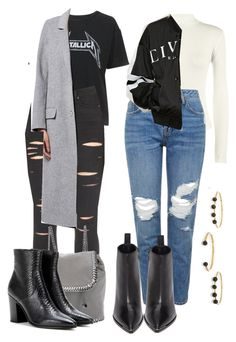 """""""Untitled #406"""" by zaraoutfits ❤ liked on Polyvore featuring WearAll, Topshop, Acne Studios, Paige Denim, STELLA McCARTNEY, Yves Saint Laurent, Forever 21 and Isabel Marant"""
