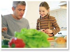 Great tips for your kids to learn to eat healthier!  Get them cooking in the kitchen with you!