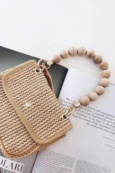 Mini Bead Handle Bag Popular Handbags, Best Handbags, Luxury Handbags, Purses And Handbags, Fashion Handbags, Fashion Bags, Designer Handbags, Fashion Purses, Luxury Purses