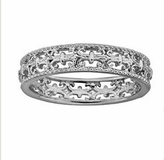 Stacks & Stones Sterling Silver Fleur-de-Lis Ring