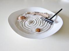 Raking meditation-table | ... Desk Garden - Office Decor - Mindfulness Meditation Table - Relaxation
