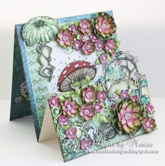 Hello Friends, Welcome to another Wednesday with Heartfelt Creations . I had so much fun creating this card with the WinkingFrogs Collect...