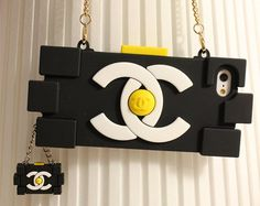 CC Lego Contrast Color Iphone 5S/5 Case Samsung S3/Note2/3 Silicone Case