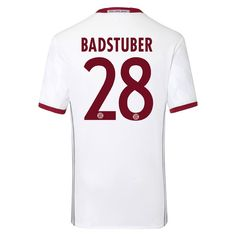 Bayern Munchen 2016/17 3RD Away Men Soccer Jersey BADSTUBER #28