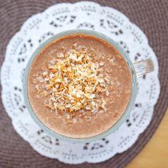 healthy Starbucks mocha coconut frappuccino {no refined sugar}