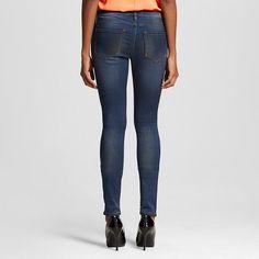 ea22ea3c52a84 Women's Low Rise Stretch Leggings Jeans Dark Wash 30 - Dittos (Juniors')