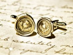 Scotland Heritage Guy Gift: Scottish Thistle Cuff links $95