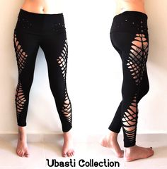 slashed and weaved eggings #cutout #symetry #psy #trance #fashion #design https://www.facebook.com/UbastiCollection?ref=hl
