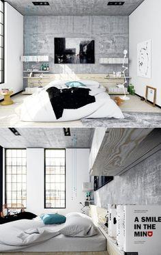 Chambre adulte design – 25 conceptions cool et modernes