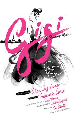 GIGI! This show is amazing! I saw it a week ago! New Poster For Broadway Bound GIGI Starring Vanessa Hudgens