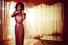 Kerry Washington | Mark Seliger #photography | Vogue Italia July 2012