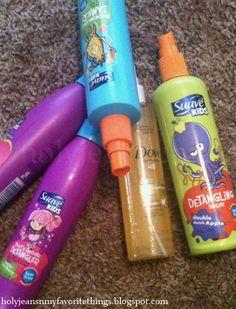 I Will Never Buy Detangler Spray Again.....The BEST Homemade Hair Detangler Spray
