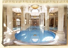Would you believe us if we told you this Italian-inspired indoor pool was in Japan? What if we told you it was in a Disney hotel? Check out the link in our bio to read more about the best Disney hotels in the world! Best Disney Hotels, Disney World Resorts, Disney Vacations, Tokyo Hotels, Paris Hotels, Disneyland Hotel Paris, Tokyo Disney Sea, Orlando Resorts, Downtown Disney