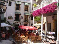 ...Die schöne Stadt Almunecar in Spanien