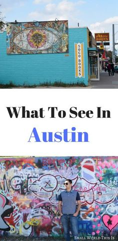 From vibrant street art to stunning vistas, here's a guide for what to do in Austin Visit Austin, Visit Texas, Visit Usa, Best States To Visit, Cool Places To Visit, Usa Travel Guide, Travel Usa, Us Travel Destinations, Us Road Trip