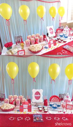 Annie Party Ideas. Printables and decoration ideas for an Annie themed birthday party!