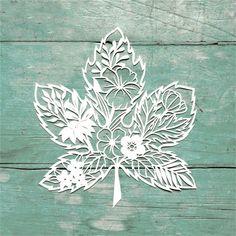 YaMinSanNiO Maple Leaf Flower Metal Cutting Dies for Scrapbooking New 2019 Craft Die Cut Card Making Embossing Stencil Kirigami, Scrapbooking, Diy Scrapbook, New Crafts, Crafts To Make, Stencil Diy, Stencils, Leaf Stencil, Paper Cutting Templates