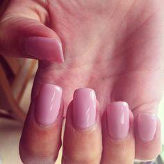 Baby Pink Gel Extensions