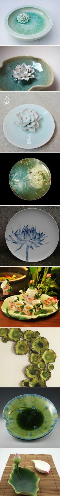 porcelain & lotus