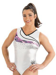 Aly Raisman Silver Star Leotard http://www.gkelite.com/Gymnastics-Shopby-SpringLeotards/E2737