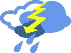 Hail Weather Symbols clip art vector, free vector graphics - Vector.me