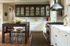 Craftsman Kitchen by M.A Architecture