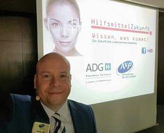 Mein Vortrag in München beim ADG Infotag: #Hilfsmittelzukunft #Digitalisierung im Gesundheitswesen #Wearables #IoT