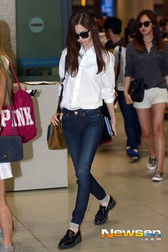 1000 Images About Snsd Airport Fashion On Pinterest
