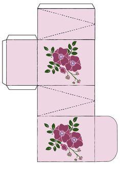 DIY-Kosmetik Schachteln Vorlagen Geschenkidee