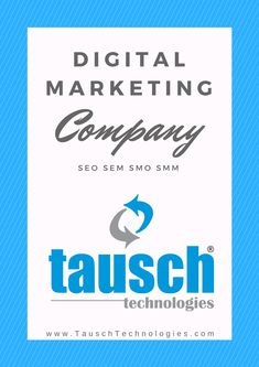 Tausch Technologies giving one of the best opportunity for those who want to increased business revenue through online. We are providing the services li. Best Seo Company, Best Digital Marketing Company, Digital Marketing Services, Best Seo Services, Web Design Services, Search Engine Optimization, Cool Websites, Social Media, Opportunity