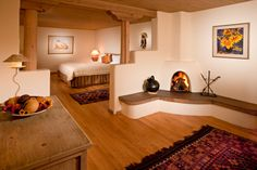 A truly relaxing place to stay in Santa Fe. Phtot by Eric Swanson http://www.ericswanson.com/ Copyright Inn on the Alameda