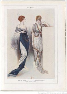 Les Modes, March 1913