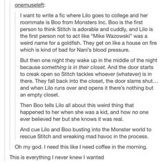 Tumblr Lilo and Stitch Monsters Inc.