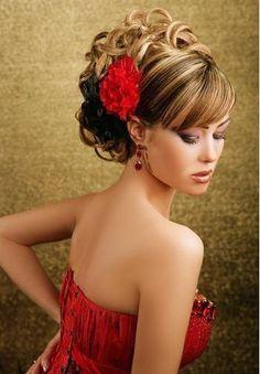 prom hair wedding hair #updo
