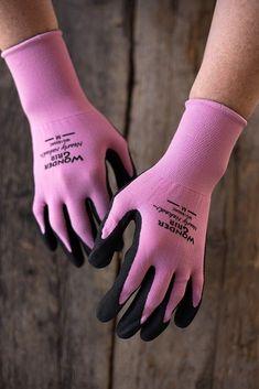 Any gardening gloves. These are Wonder Grip Nearly Naked Garden Gloves sz. Medium. #gardengloves