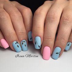 67 ideas nails blue flowers manicures for 2019 Nail Art Designs, Fingernail Designs, Stylish Nails, Trendy Nails, Hair And Nails, My Nails, Nail Art Strass, Country Nails, Super Nails
