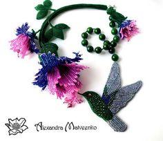 Berry jewelry by Alexandra Matveenko | Beads Magic
