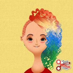 Toca Boca hair