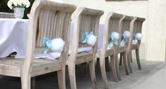 Bunny tail chair backers!  Cute for the brunch I want to do.  AND I THOUGHT MY ANGEL WINGS WERE CUTE------JUST MIGHT DO