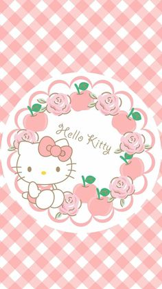 Melody Hello Kitty, Hello Kitty Art, Hello Kitty Tattoos, Hello Kitty Themes, Hello Kitty Birthday, Hello Kitty Iphone Wallpaper, Hello Kitty Backgrounds, Sanrio Wallpaper, Kawaii Wallpaper