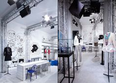 #Colette & #Chanel pop up shop, #Paris store design