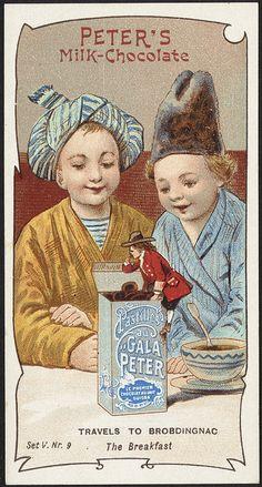 Peter's Milk-Chocolate booklet