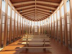 Descarga gratuitamente y en alta calidad esta imagen del interior de una iglesia de estilo moderno. Encuentra todas las imágenes que necesitas aquí. > http://imagenesgratis.eu/imagen-de-una-iglesia-moderna/